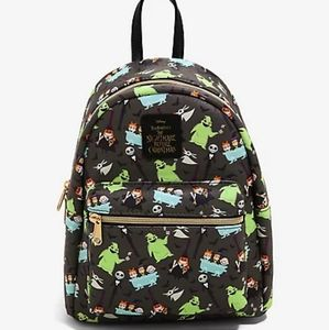 Loungefly NBC Characters Mini Backpack